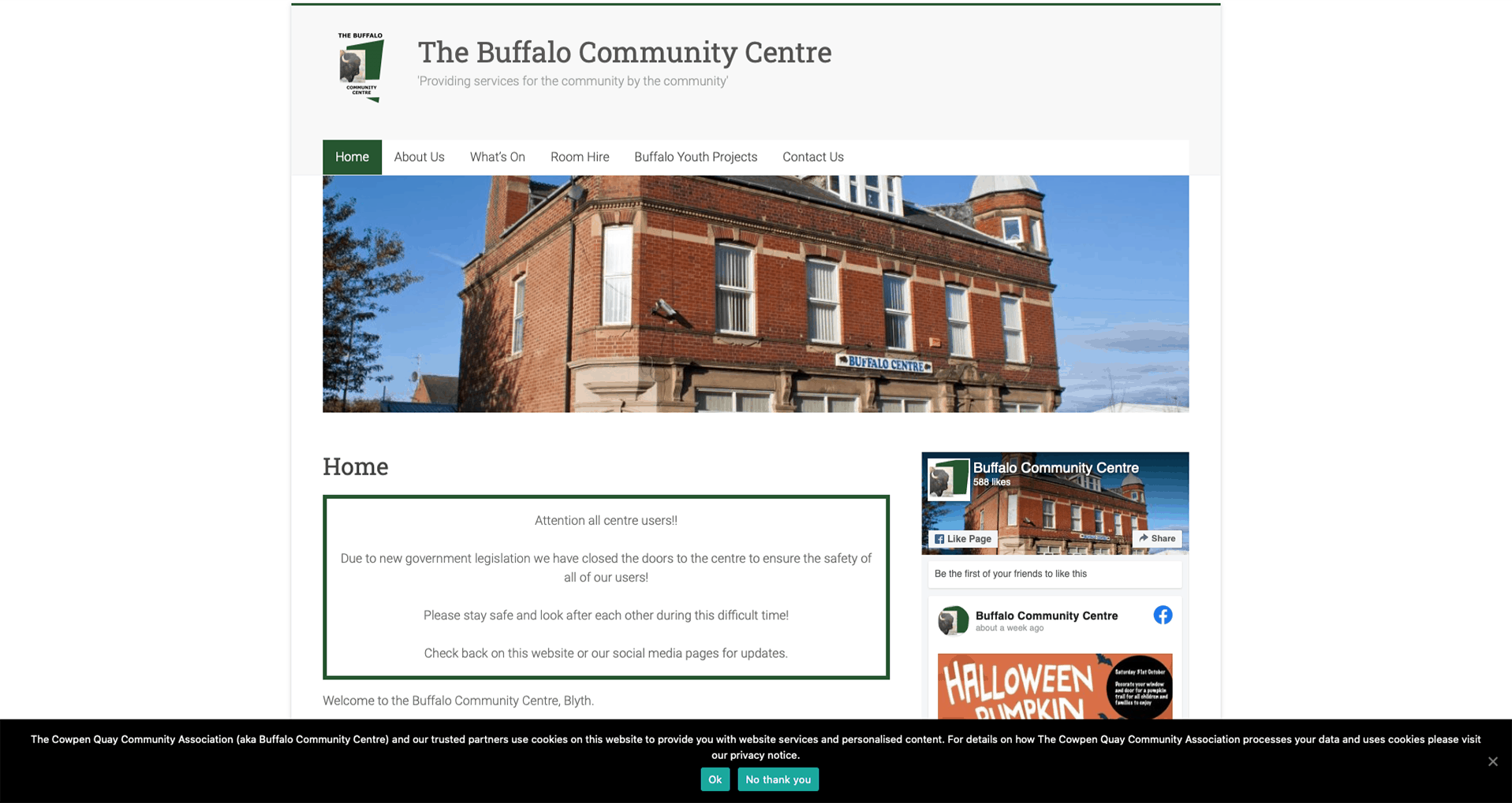 Portfolio - Buffalo Community Centre